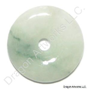 Chinese carved jade pi disc pendant of positive attitude aloadofball Images