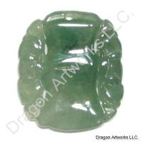 Carved Jade Pendant of Exotic Style